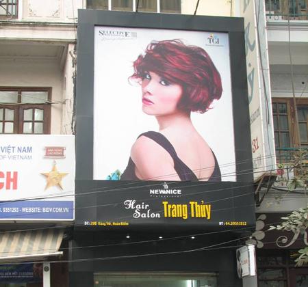 Biển quảng cáo bạt hiflex